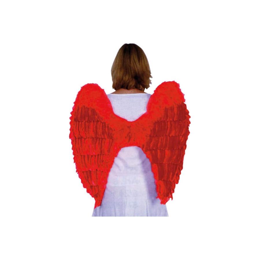 Grandes ailes rouges d 39 ange avec plumes for Tableau aile d ange