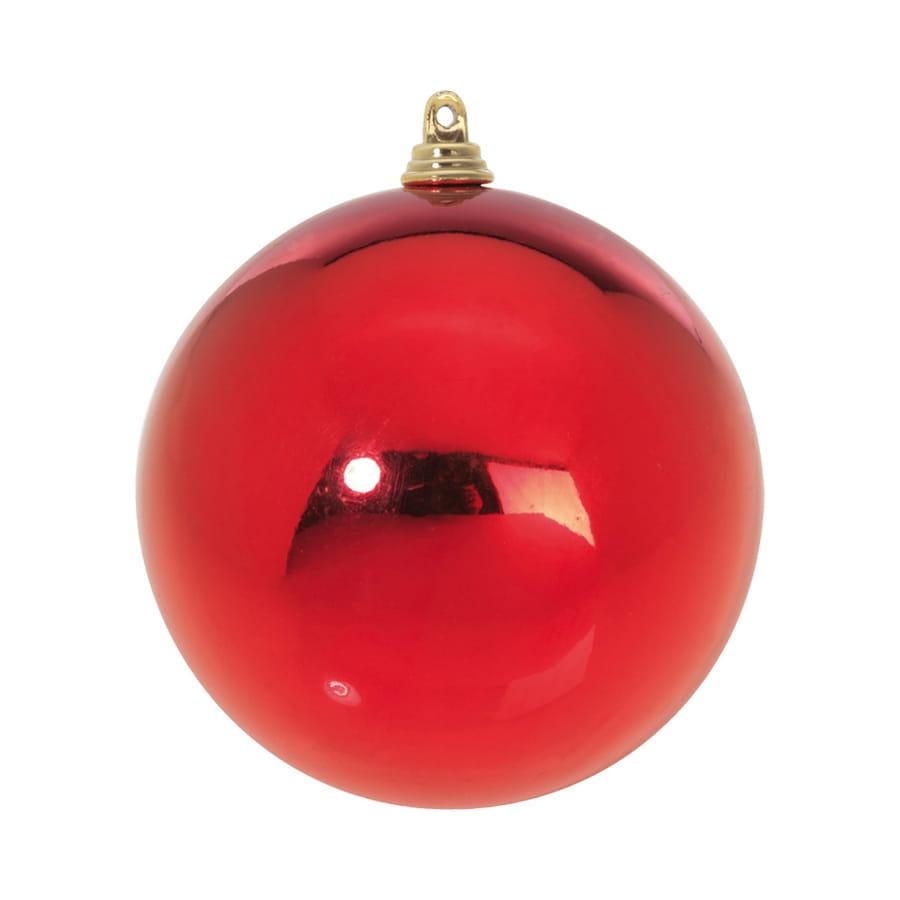 Grosse boule de no l rouge - Image boule noel ...