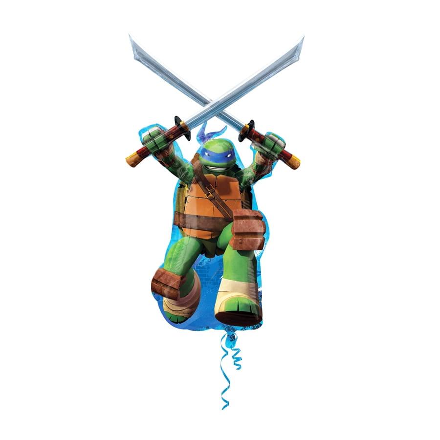 Grand ballon en forme de l onardo tortue ninja - Leonardo tortues ninja ...