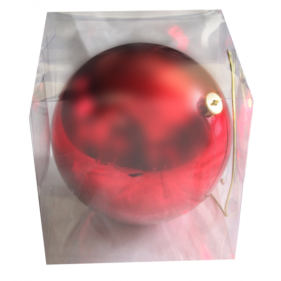 Grosse Boule De Noel : grosse boule rouge de noel brillante de 20cm ~ Pogadajmy.info Styles, Décorations et Voitures