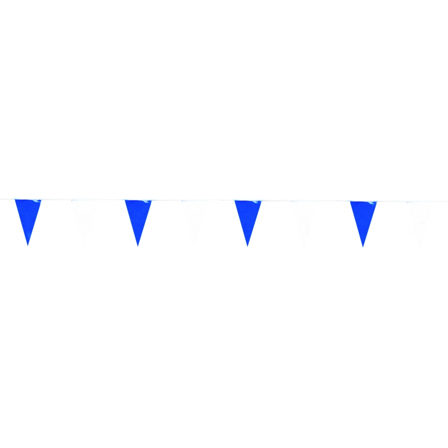 Guirlande de triangles bleu marine et blanc - Deco bleu marine et blanc ...
