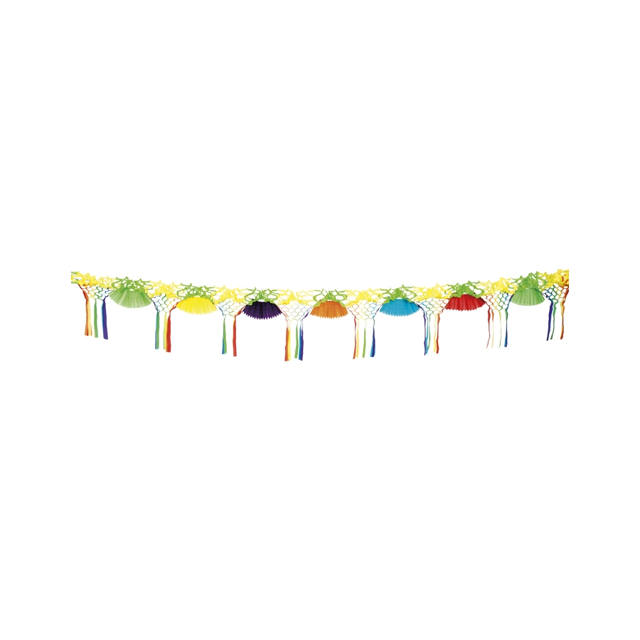 guirlande multicolore de serpentins. Black Bedroom Furniture Sets. Home Design Ideas