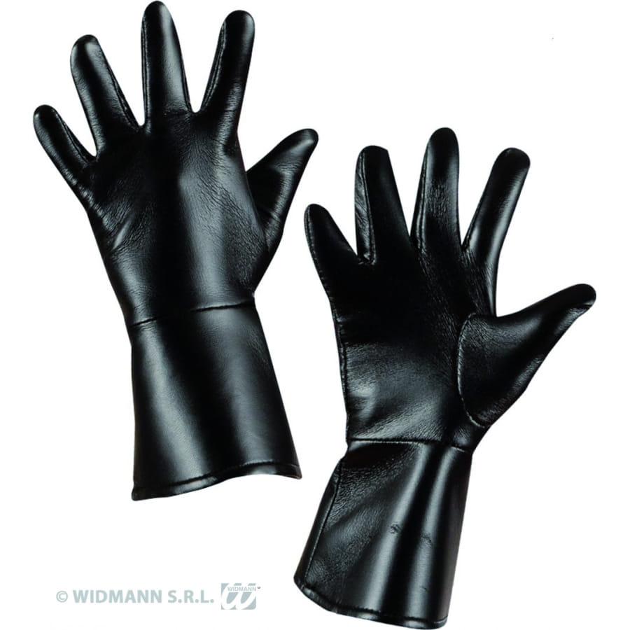 Gants noir en simili cuir pour adultes - Qu est ce que le simili cuir ...