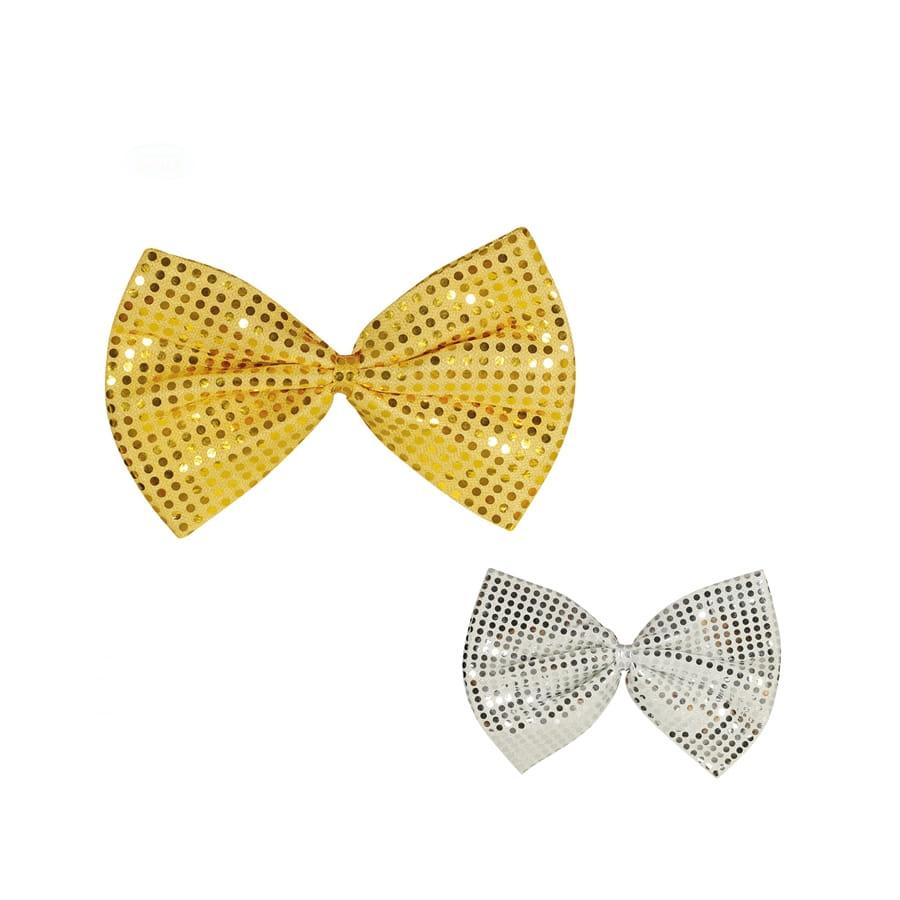 nouvelle arrivee beauté bonne vente Gros noeud papillon disco à paillettes de 30 cm