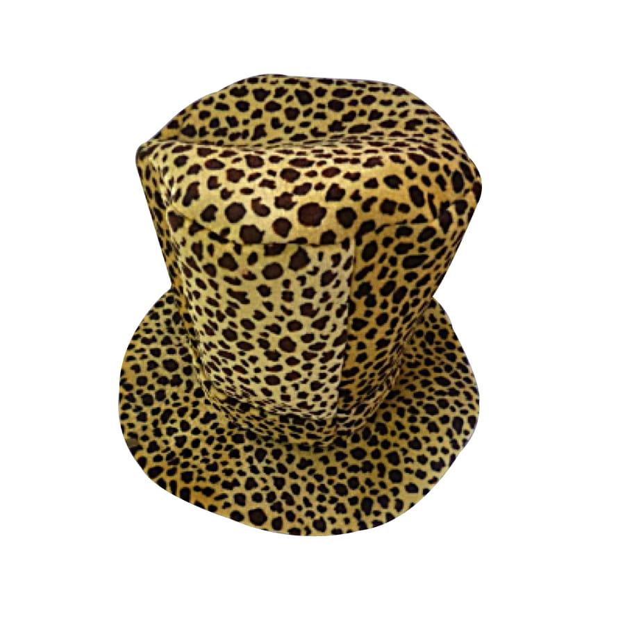 haut de forme en mousse leopard. Black Bedroom Furniture Sets. Home Design Ideas