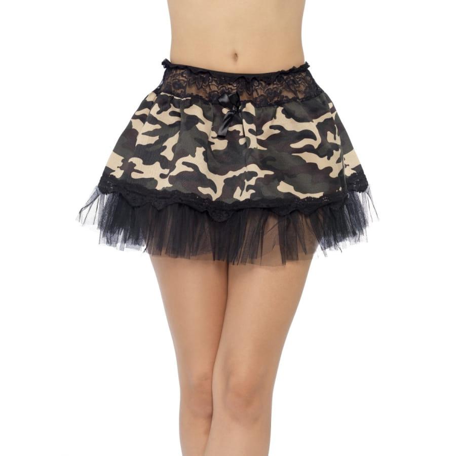 jupe tutu noir camouflage. Black Bedroom Furniture Sets. Home Design Ideas
