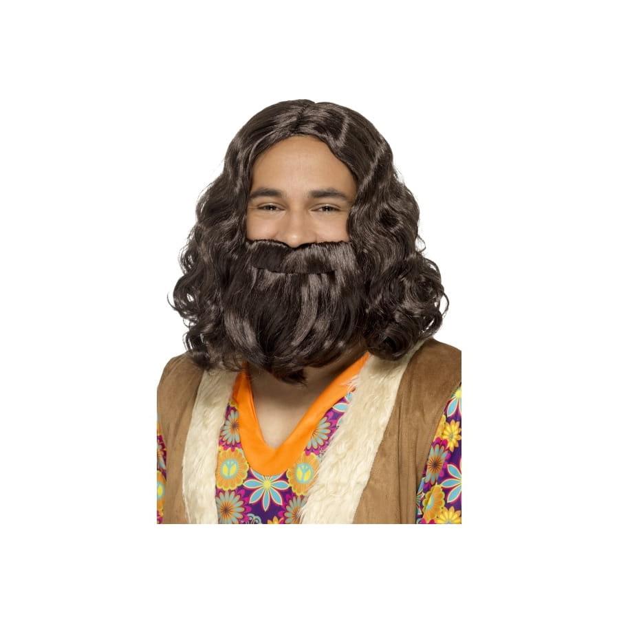 Kit barbe et perruque de Jesus