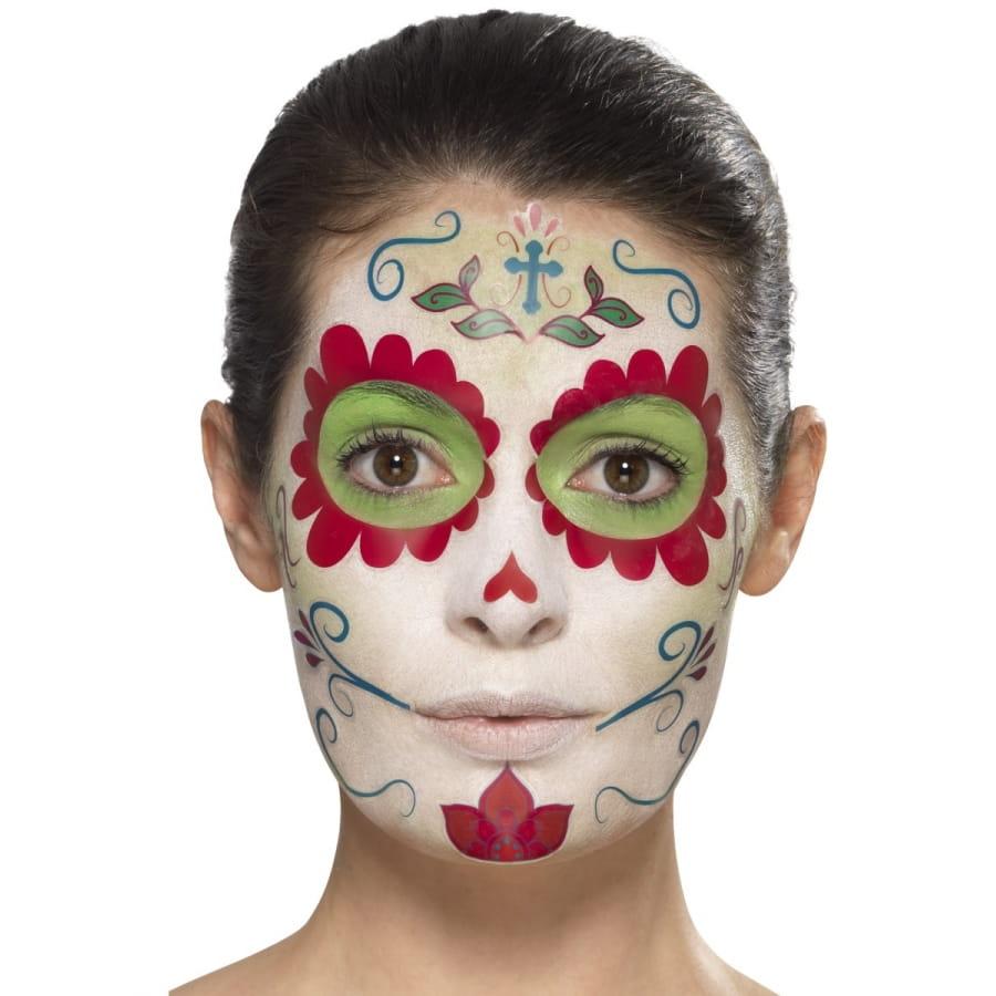 Kit de maquillage jour des morts girly - Maquillage fete des morts ...
