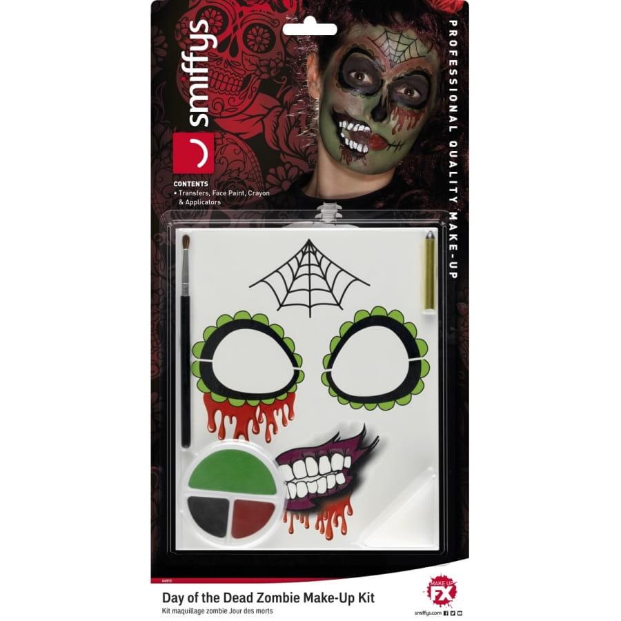 Kit de maquillage zombie jour des morts - Maquillage fete des morts ...