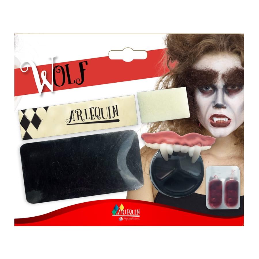 Kit Maquillage De Loup Garou