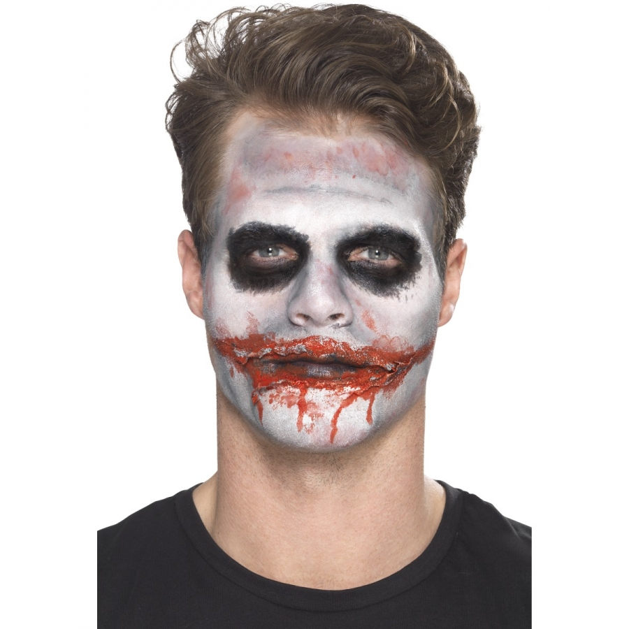Kit pour maquillage de clown tueur - Maquillage de clown facile ...