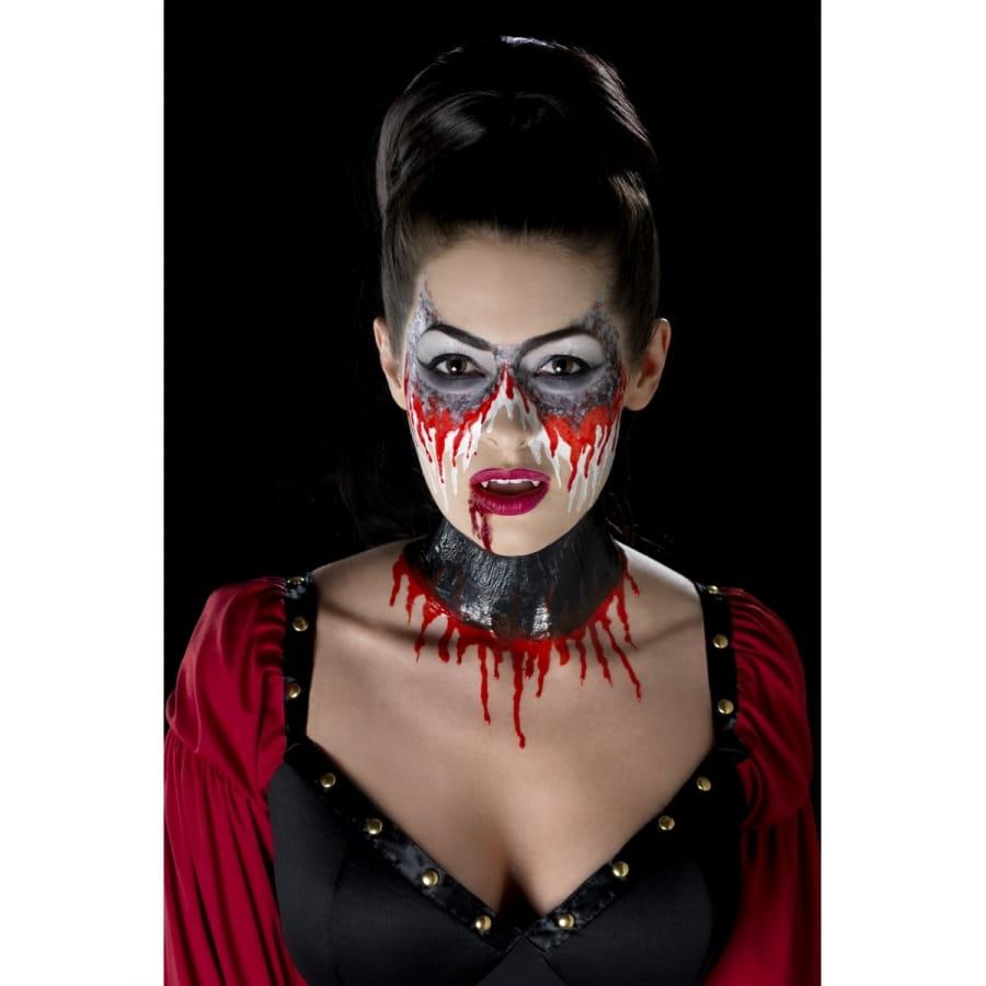 maquillage vampire latex