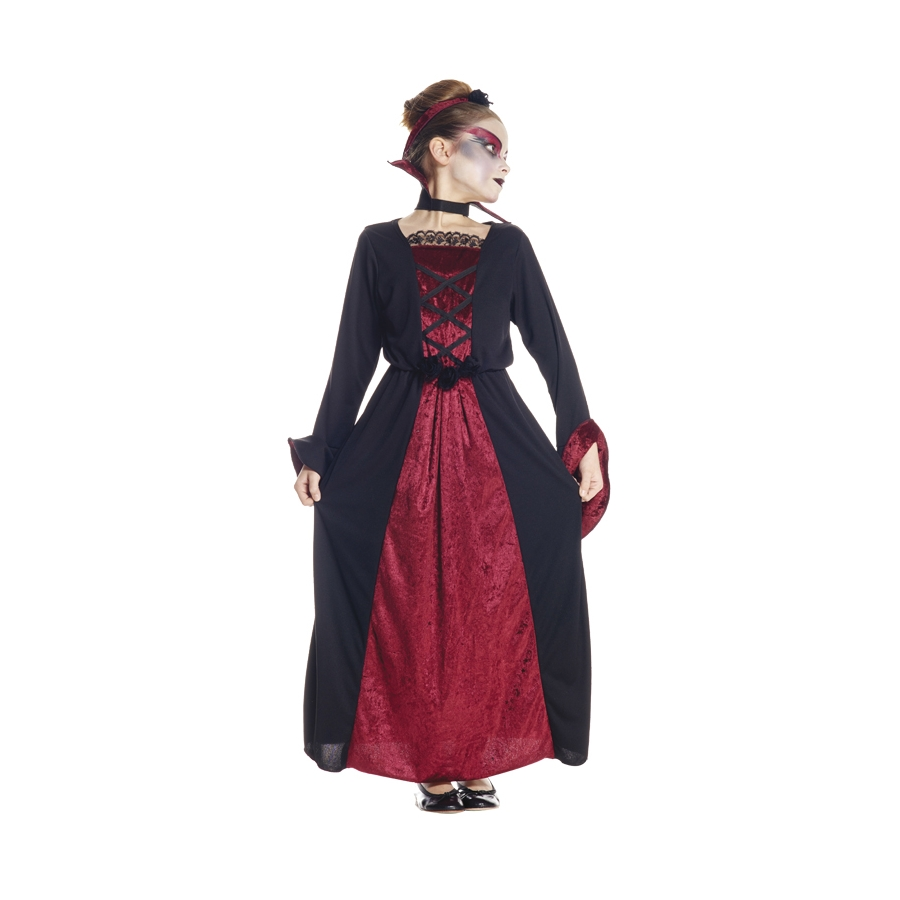 long costume de vampire pour fille. Black Bedroom Furniture Sets. Home Design Ideas