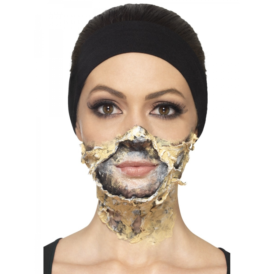 Maquillage zombie simple sans latex - Maquillage halloween latex ...