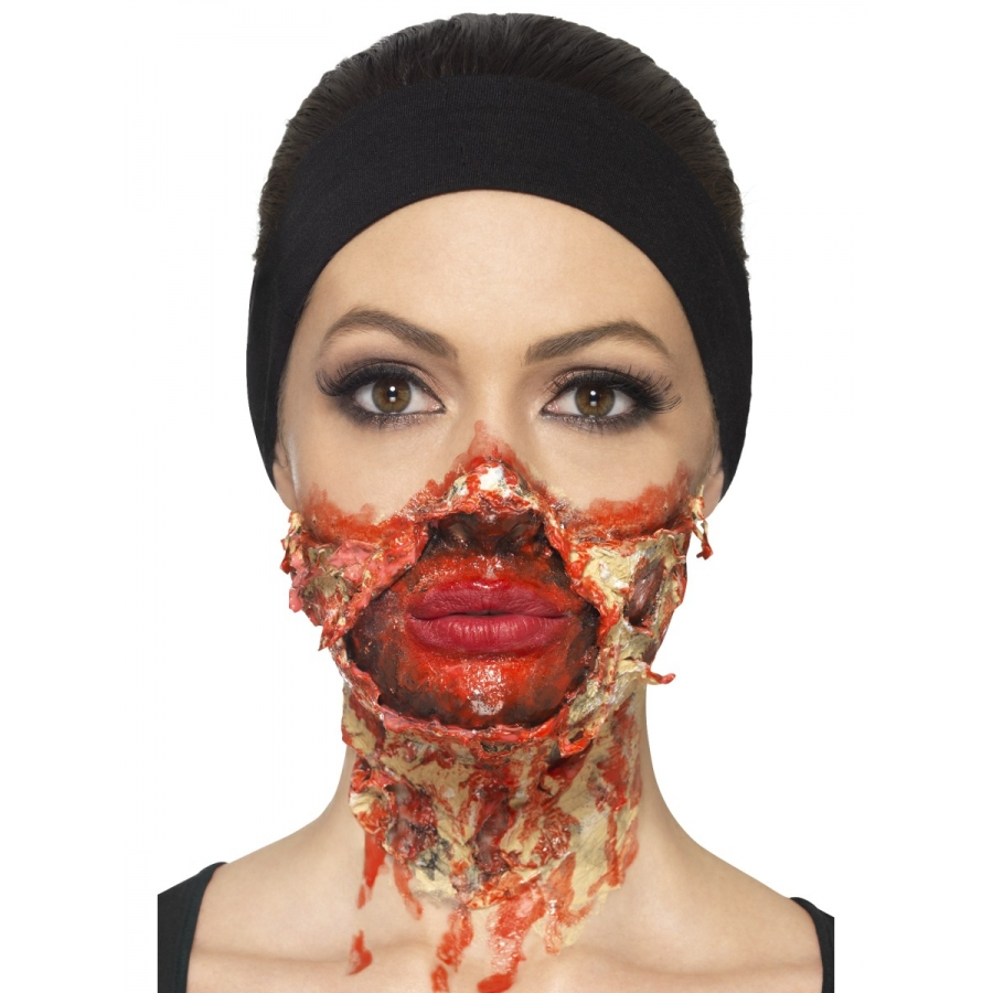 Latex pour maquillage de zombie sans ammoniac - Maquillage halloween latex ...