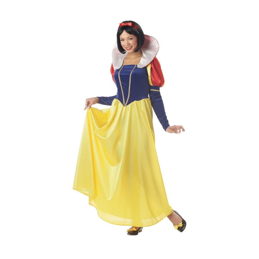 Longue robe de blanche neige adulte - Robe barbie adulte ...