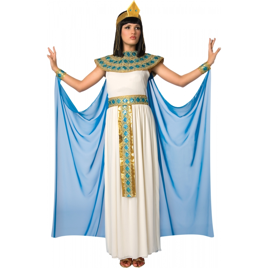 Robe longue blanche cleopatre
