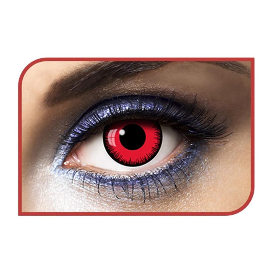 lentilles noires yeux