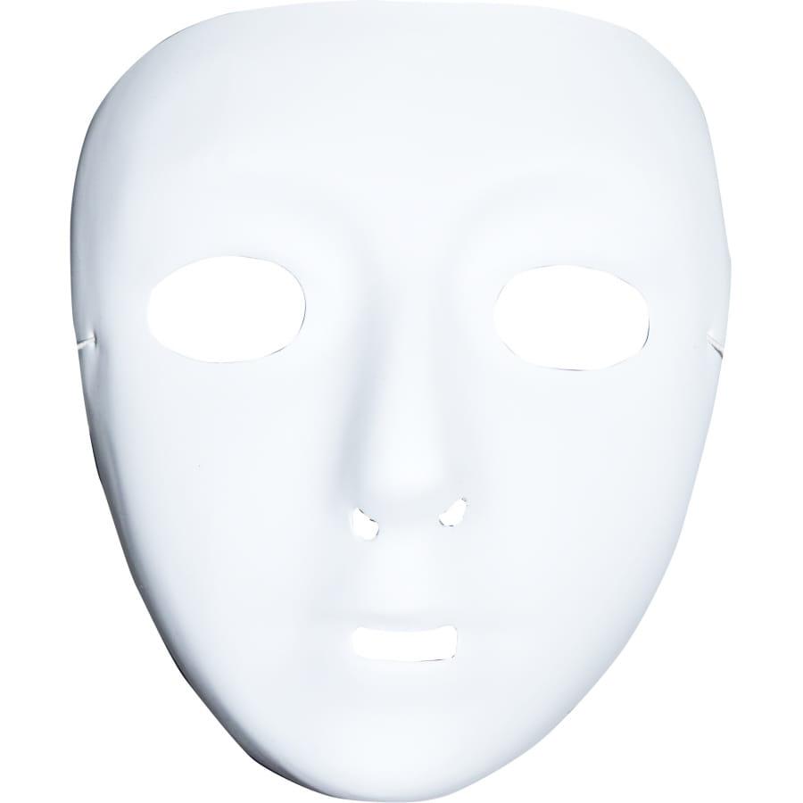 Masque blanc sans front a peindre et d corer for Decorer un masque blanc