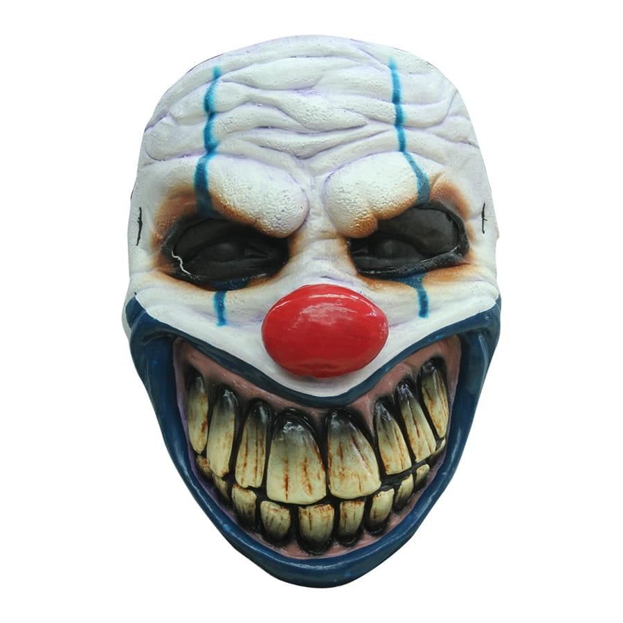 Masque de clown au sourire terrifiant - Photo de clown a imprimer ...