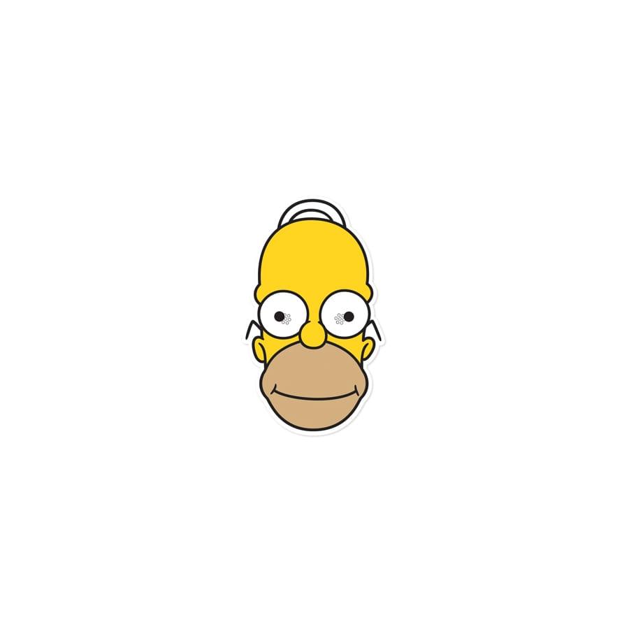 Masque De Homer Simpson En Carton