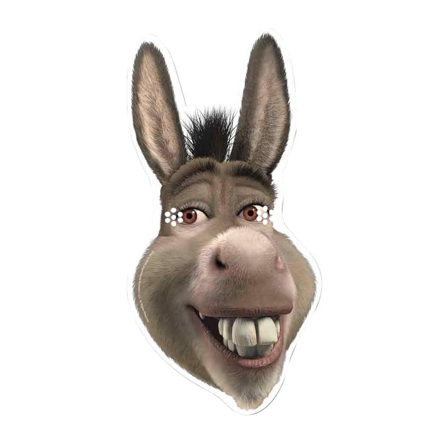 masque de lne de shrek en carton - Shrek Ane