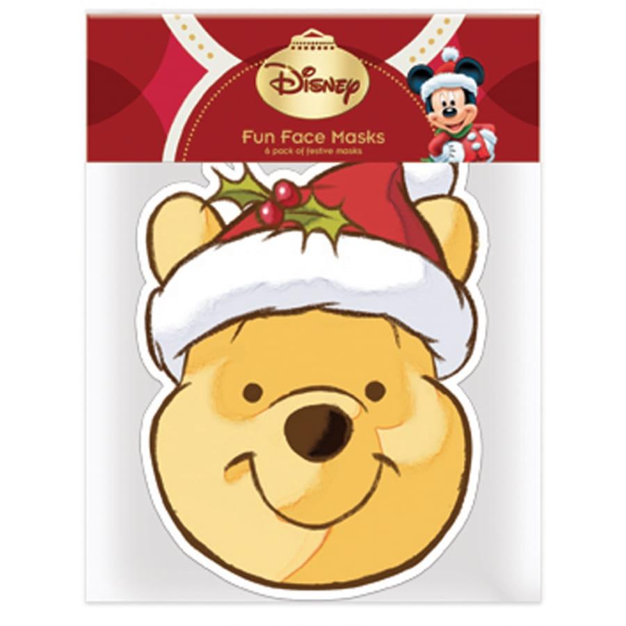 Masque de winnie l 39 ourson p re no l - Winnie l ourson noel ...