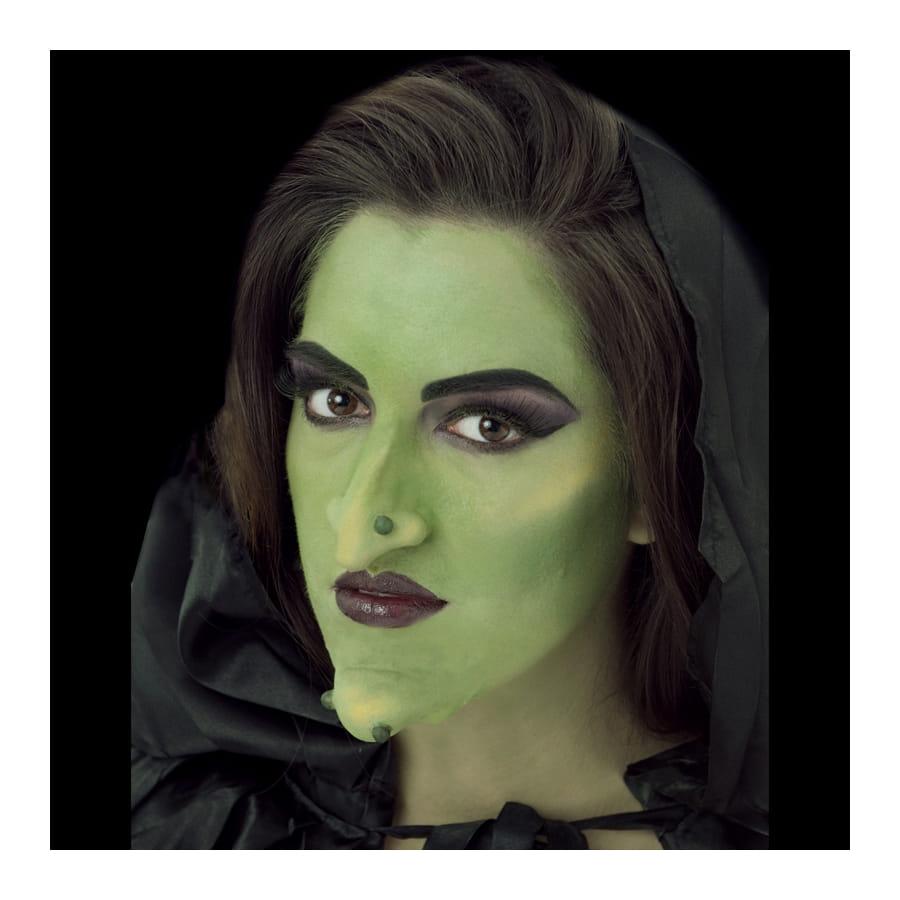 maquillage sorciere avec latex