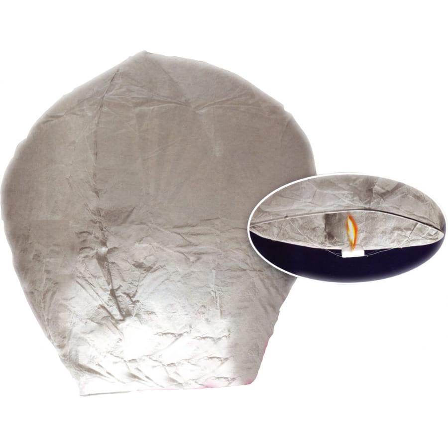 Montgolfi re en papier blanche - Montgolfiere en papier ...