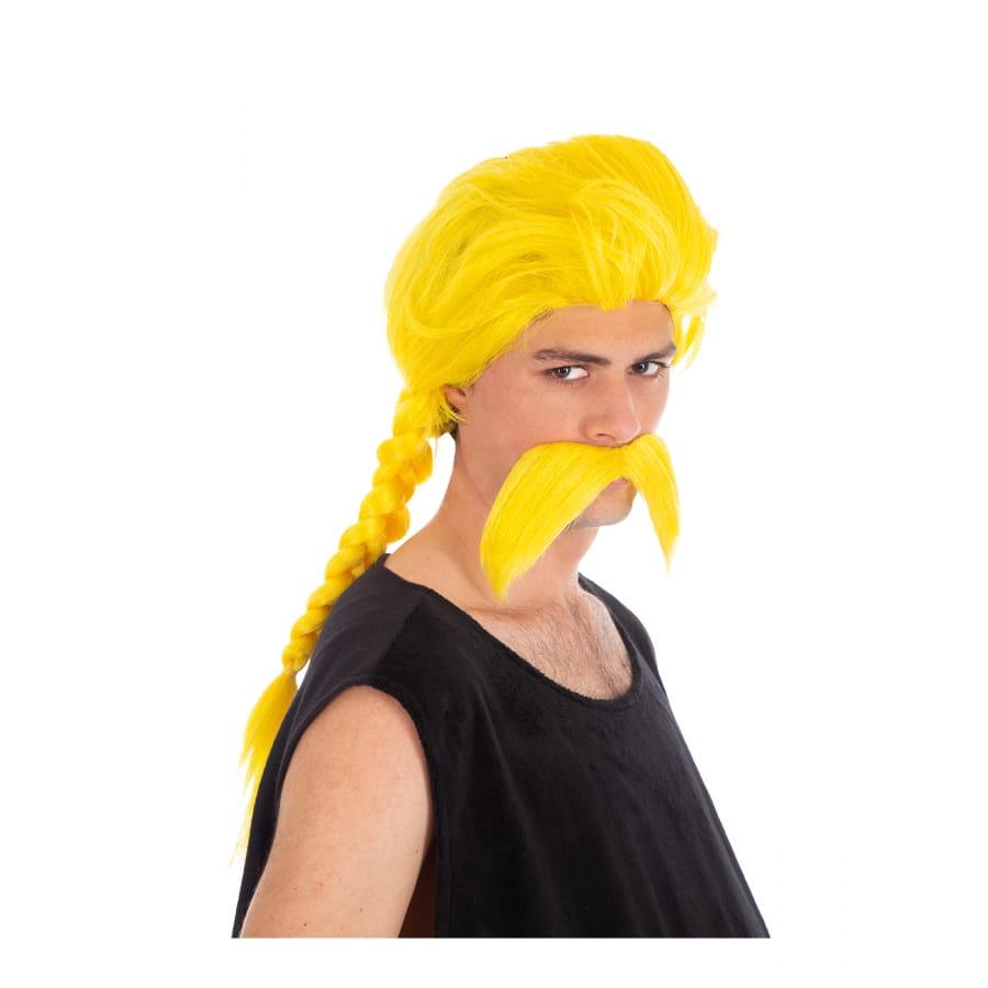 Moustache et perruque de Ordralphabétix pour