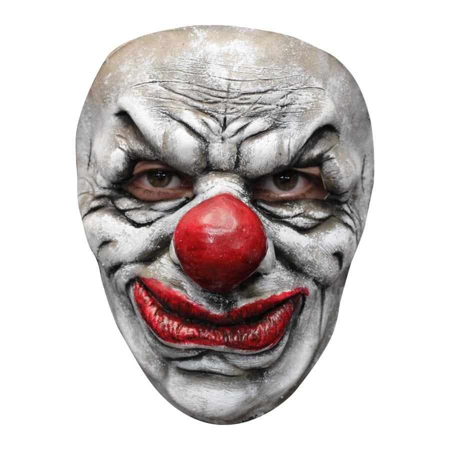 masque facial de clown horrible. Black Bedroom Furniture Sets. Home Design Ideas