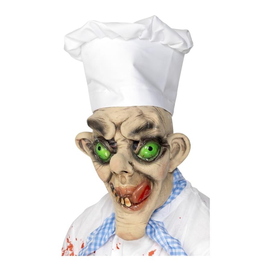 Masque horreur chef cuisinier for Cuisinier zombie
