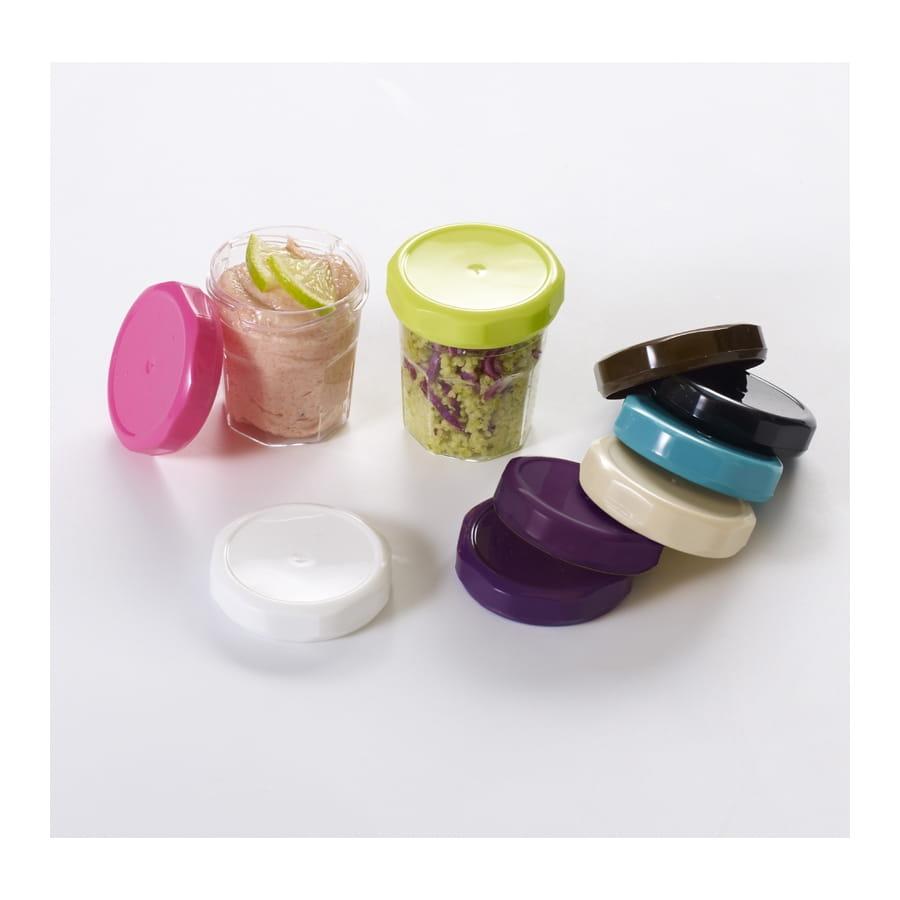 Mini pot de confiture avec couvercle color - Couvercle pot de confiture ...