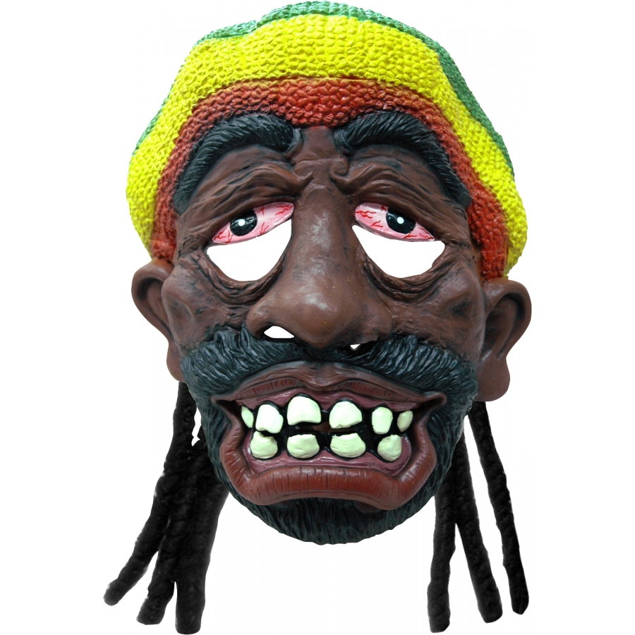 Masque rasta avec bonnet - Dessin de rasta ...