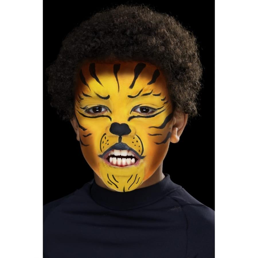 Maquillage visage animal sauvage - Maquillage araignee visage ...