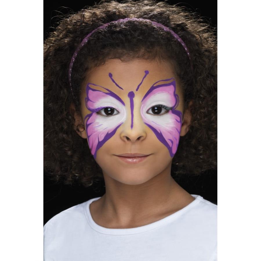 Maquillage Visage Papillon