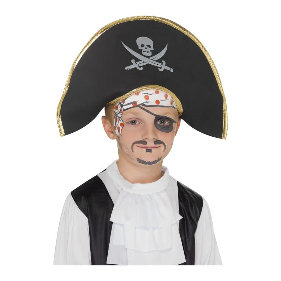 maquillage visage pirate. Black Bedroom Furniture Sets. Home Design Ideas