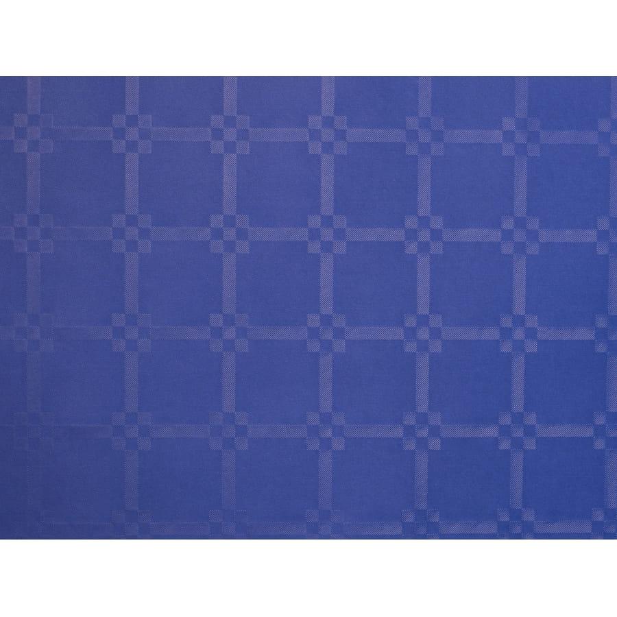 nappe bleu marine damass e x 6m. Black Bedroom Furniture Sets. Home Design Ideas