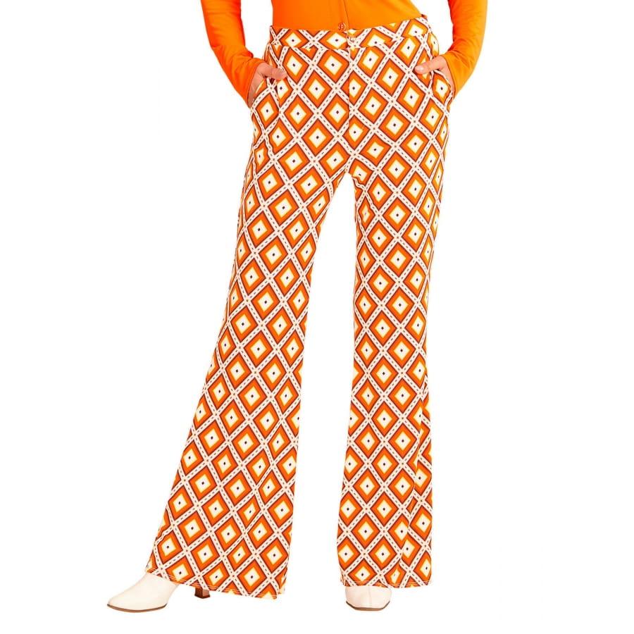 Pantalones Patrones Patrones Naranja 70s Pantalones Patrones 70s LosangesMujer Naranja LosangesMujer Naranja 70s Pantalones OkiZPuTX