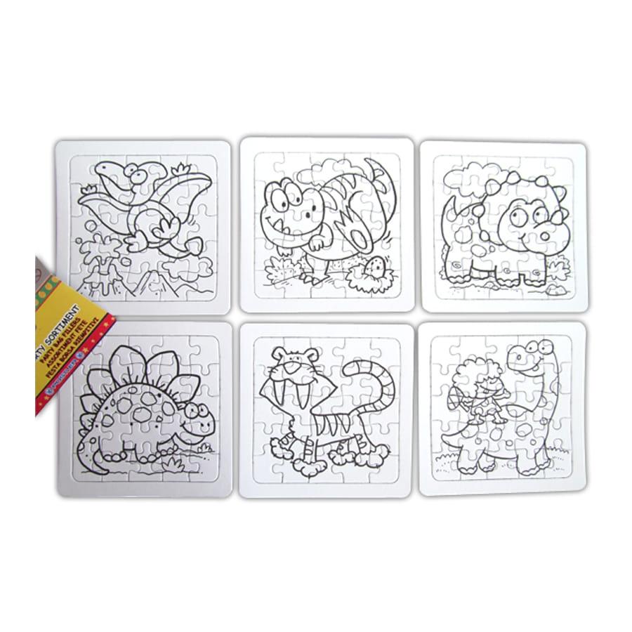Puzzle colorier for Puzzle a colorier