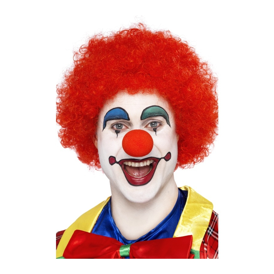 Perruque Clown Rouge