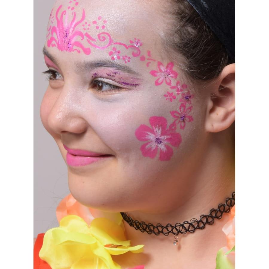 Pochoir De Maquillage Fleurs
