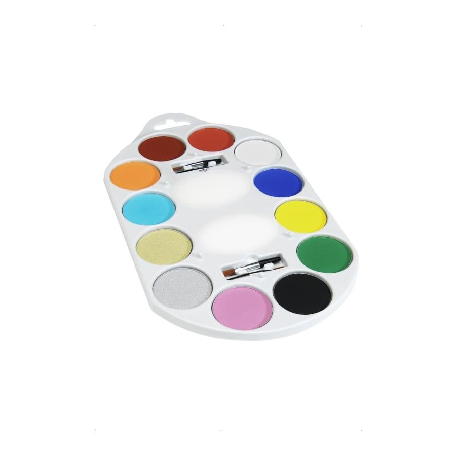 Palette peinture 12 couleurs for Peinture palette