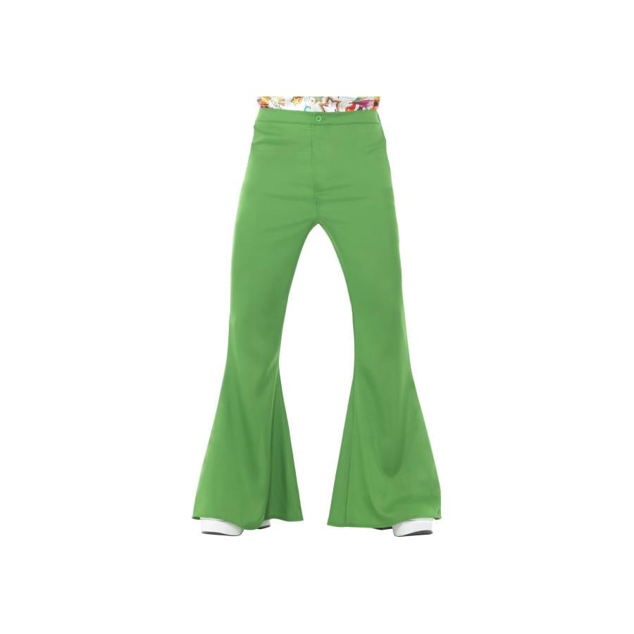 pantalon pattes d 39 eph vert pour homme. Black Bedroom Furniture Sets. Home Design Ideas