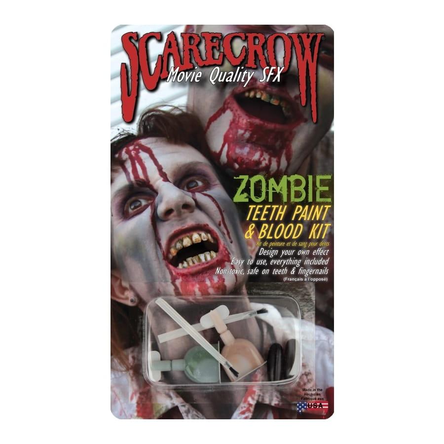 peinture pour dents de zombie avec sang. Black Bedroom Furniture Sets. Home Design Ideas