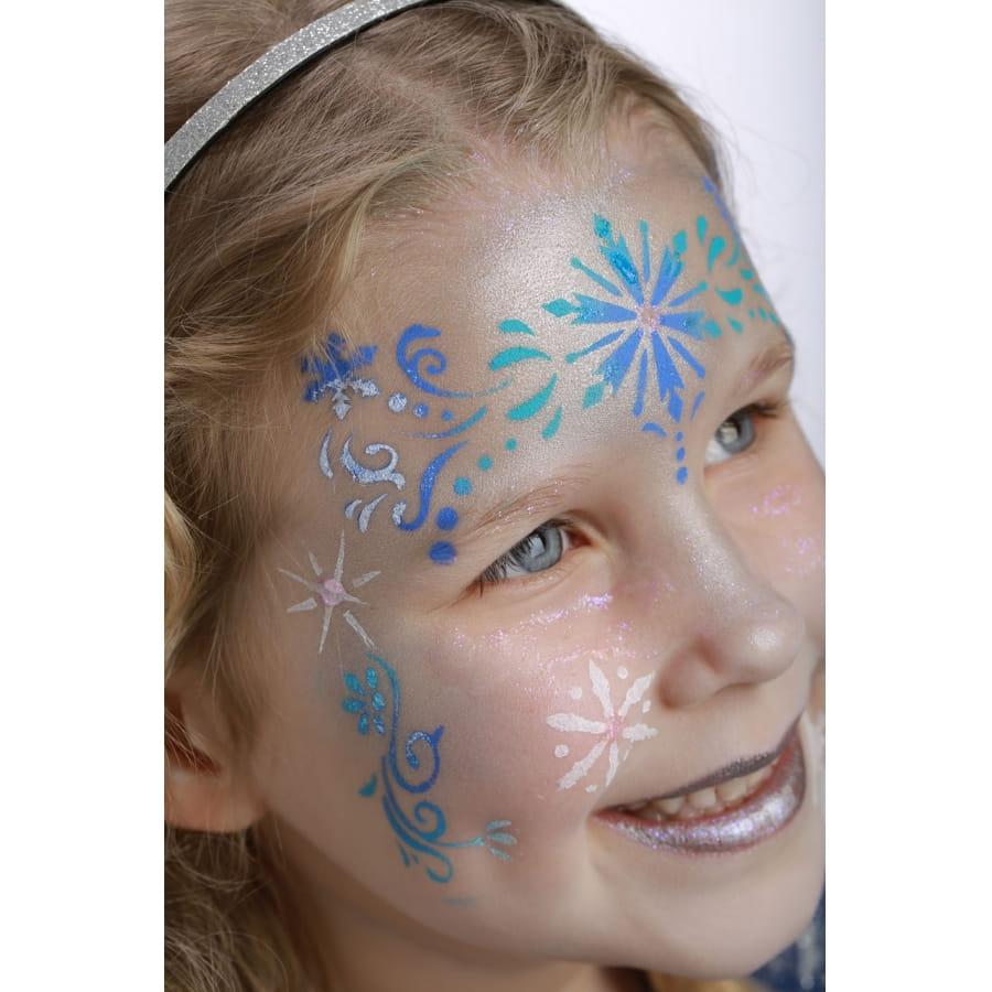 Pochoir Princesse Des Neiges Pour Maquillage