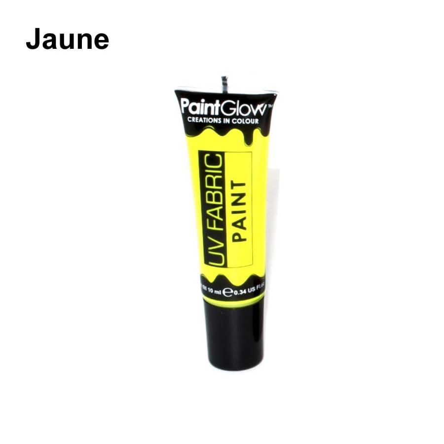 Peinture textile fluo uv for Peinture jaune fluo
