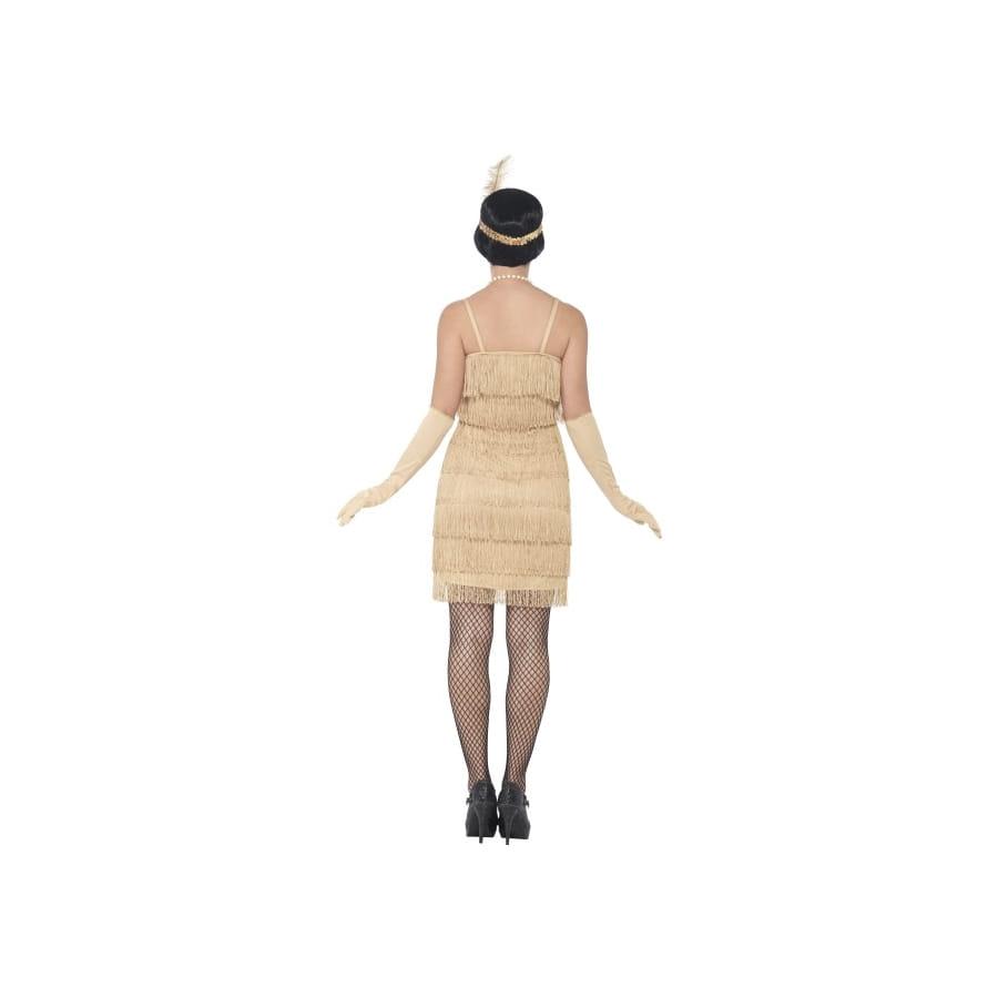 robe ann es 20 franges dor es flappers. Black Bedroom Furniture Sets. Home Design Ideas