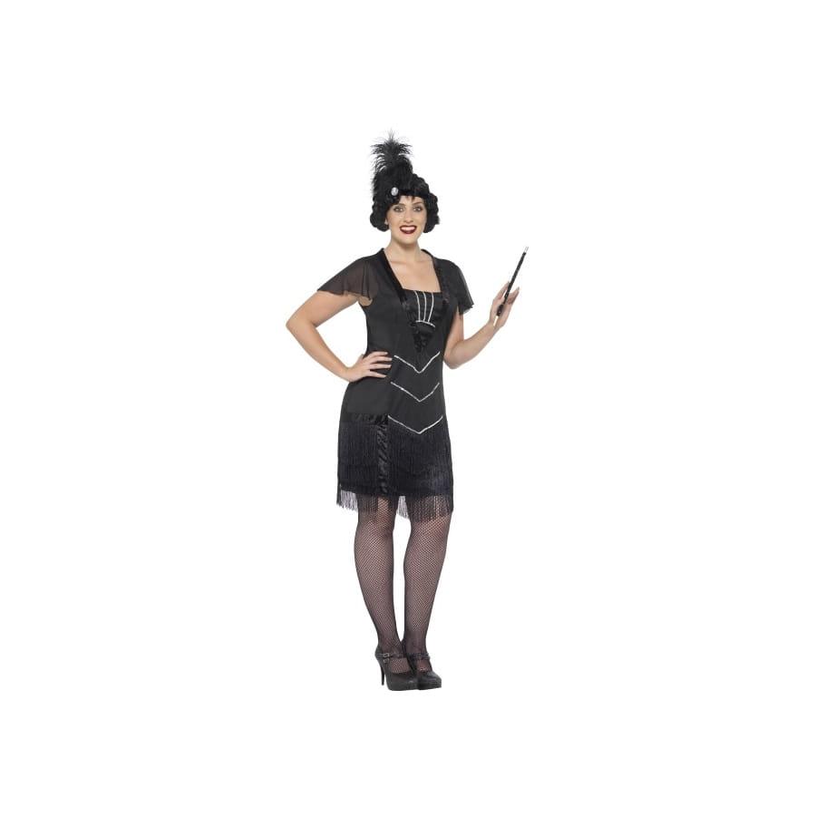 robe cabaret noire a franges grande taille With robe cabaret grande taille
