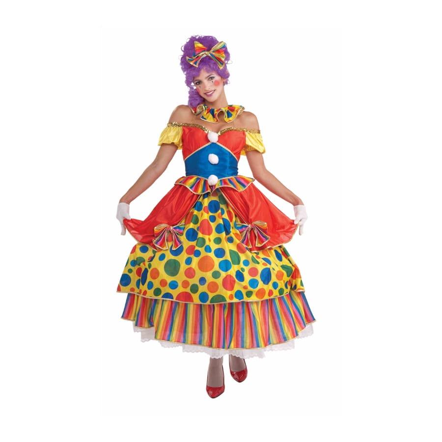 Pois De Multicolore À Robe Clown Y76vbgfy